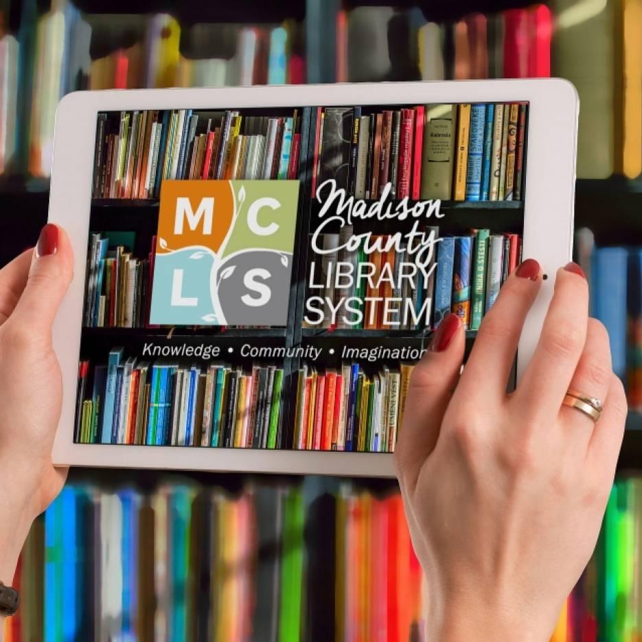 Digital Tablet with MCLS logo